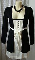 Платье женское демисезонное акрил бренд Body Flirt р.42-44 4685