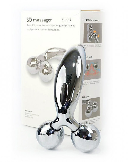 Ліфтинг масажер для обличчя і тіла 3D MASSAGER Ліфтинг-Масажер для жінок 3D MASSAGER