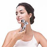 3D масажер 3DMASSAGER Ліфтинг-Масажер для жінок 3D MASSAGER Ліфтинг масажер для обличчя і тіла, фото 4