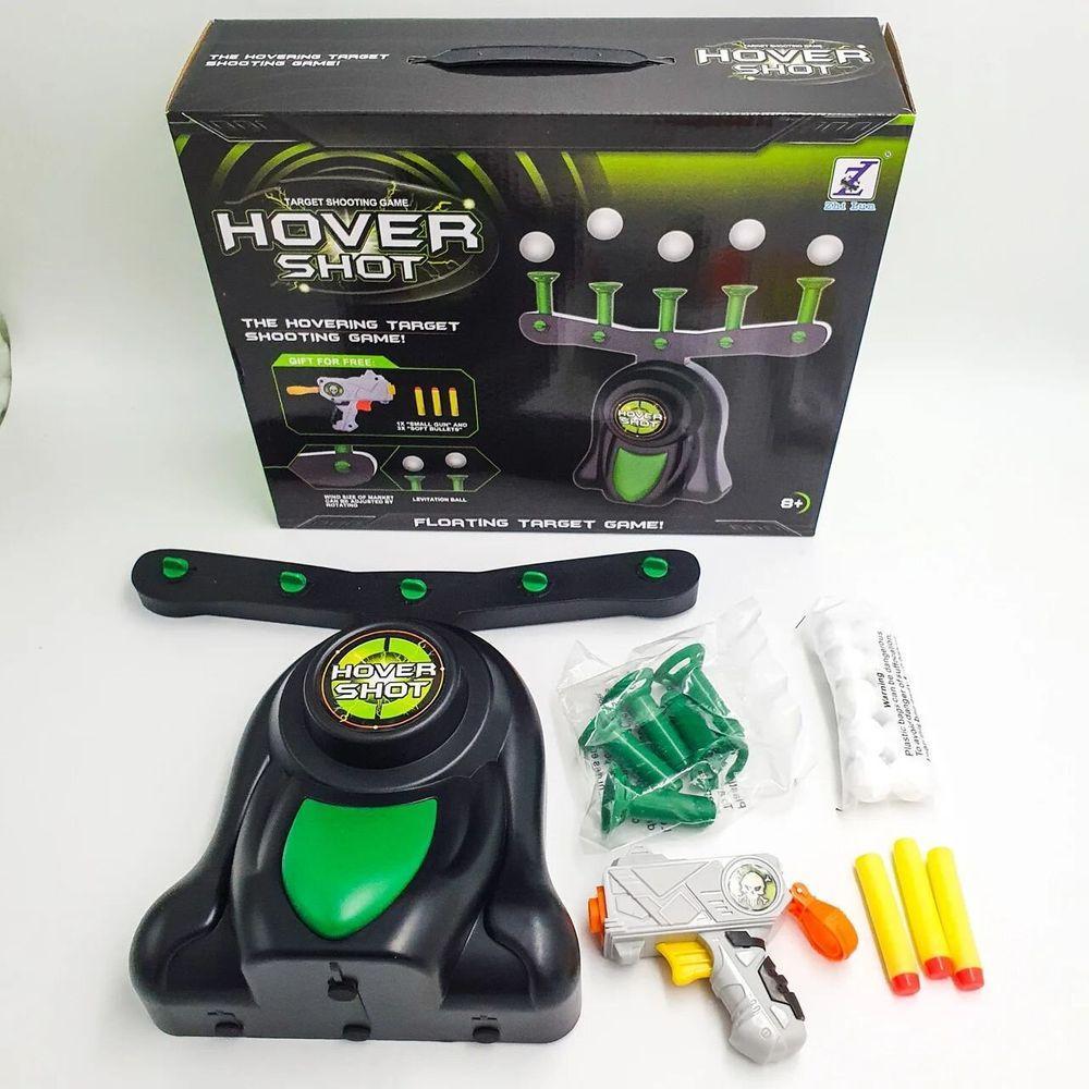 Дитяча захоплююча Іграшка Hover Blast Стрільба по ширяючим кулькам Літаючі мішені