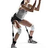 Тренажер для бігу та стрибків, силових тренувань латеральний тренажер амортизатор для ніг Step Trainer, фото 2