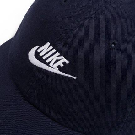 Кепка мужская Nike U NSW H86 Futura Washed 913011-451 Темно-синий, фото 2