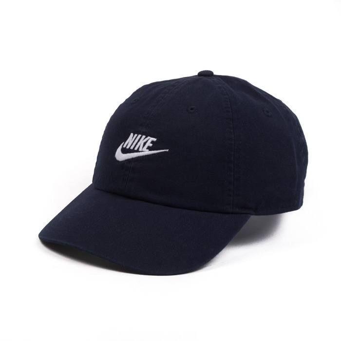 Кепка мужская Nike U NSW H86 Futura Washed 913011-451 Темно-синий