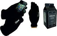 Перчатки для iРhone iGloves Черные распродажа