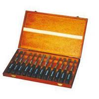 Комплект інструментів для різьби по дереву, 12 шт. Holzmann SCH12TLG