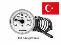Термометр  PAKKENS Ø40 mm / t-120°c / L - 1m