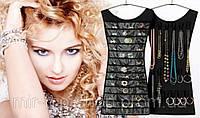 Платье органайзер для украшений бусин бижутерии отличного качества
