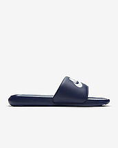 Шльопанці чоловічі Nike Victori One men's Slide CN9675-401 Темно-синій, фото 3
