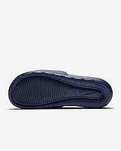 Шльопанці чоловічі Nike Victori One men's Slide CN9675-401 Темно-синій, фото 2