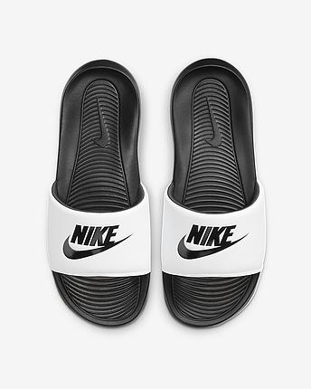 Шльопанці чоловічі Nike Victori One men's Slide CN9675-005 Білий, фото 2