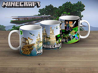 "Чашка Майнкрафт ""Castle""/ Minecraft"