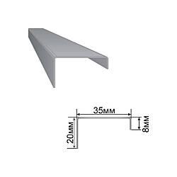 Армирующий профиль для окон ПВХ 8x35x20