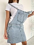 Сарафан джинсовый женский, фото 5