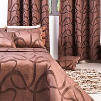 Покрывало на кровать Empress (Эмпресс) 240*260 шоколад