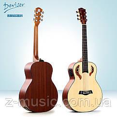 Гитара электроакустическая 3/4 Deviser LS-170N-EQ (36 дюйма)