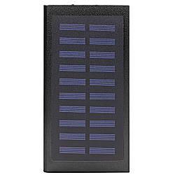 Power bank c солнечной панелью для зарядки Cube 20000 mAh Black 258-10648, КОД: 1392685