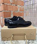 Чоловічі туфлі respect натуральна шкіра 44, фото 3