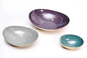Набор декоративных блюд Kayoom Marta M810 Violet/Grey/Petrol