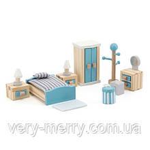 Деревянная мебель для кукол Viga Toys PolarB Спальня (44035)