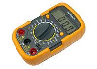 Тестер цифровой мультиметр UK-830LN c щупами и батарейкой