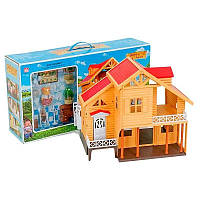 Sylvanian Families будиночок під дерево меблі аксесуари в коробці 17*34*6,5 см