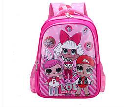 """Рюкзак школьный  """"Кукла LoL suprise """" для девочек в первый класс"""