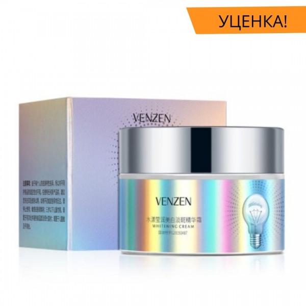 Уцінка! Відбілюючий крем для обличчя VENZEN Whitening Cream c екстрактом журавлини 30 грам