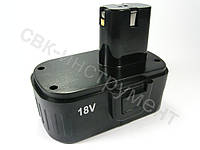 Аккумулятор для шуруповерта 18 В / 3 контакта (прямой)