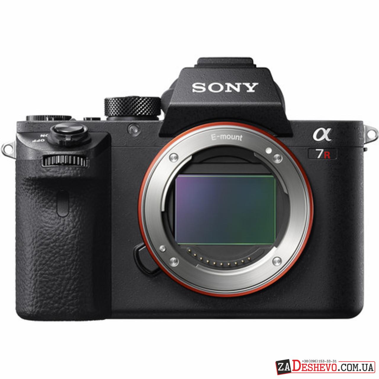 Sony Alpha a7R II Mirrorless Digital Camera (Body) (ILCE7RM2/B)