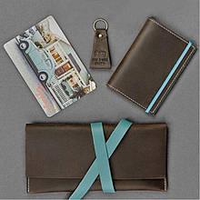 Набор BlankNote Тревел-кейс + обложка для паспорта + брелок Флоренция BN-set-travel-1, КОД: 778280