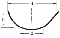 Чаша испарительная круглодонная с носиком (60х30)