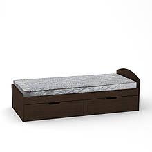 Кровать 90 2 Компанит Венге, КОД: 182382