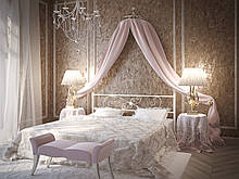Кровать Tenero Хризантема 1800х1900 мм Белый 1000002126, КОД: 1645390