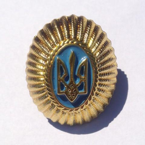 Кокарды генеральские, офицерские Украина герб