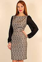 Вечернее платье футляр 44-50 р ( черный, синий )