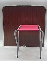 Стол для пикника с 4 стульями Folding Table (60х120 cм) деревянный (50шт)