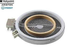 Конфорка (ТЭН-спираль) для стеклокерамической варочной поверхности Ariston | Indesit C00084563