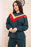 Спорт костюм жіночий 104R113 колір Зелений, фото 4