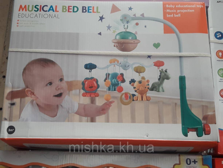 "Музична карусель на ліжечко ""Розумний малюк"""