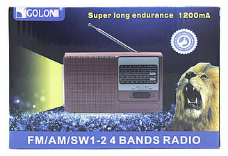 Радіоприймач GOLON RX-6031 / 1X18650 акумулятор