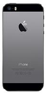 Задняя часть корпуса Apple iPhone 5S Оригинал Черный