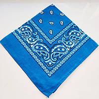 Жіноча хустка (блакитна)