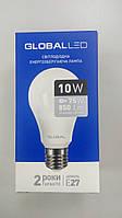 Лампа светодиодная Global  LED 1-GBL-163  A60 10W 3000K 220V E27 AL