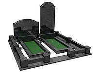 Памятники из гранита и бетона двойные одинарные мемориальные комплексы. 18 лет опыта. Установка, гарантия