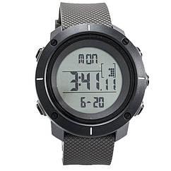 Часы электронные, спортивные Skmei 1215, серые, в металлическом боксе