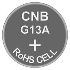 Батарейка годинникова лужна, Alkaline AG13 (А76, LR44, 357, SR1154) Soshine 1.5 V
