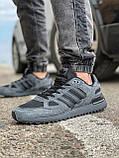 Кросівки чоловічі 18162, Adidas ZX 750, темно-сірі, [ 41 42 43 44 45 46 ] р. 43-28,0 див., фото 2