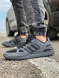 Кросівки чоловічі 18162, Adidas ZX 750, темно-сірі, [ 41 42 43 44 45 46 ] р. 43-28,0 див., фото 3