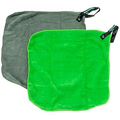 Набор полотенец Sea to Summit Tek Towel 2 Washcloths 2 р.XXS (30х30см), 2шт., зеленый/лайм