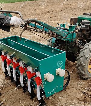 Сеялка зерновая SD-6 шестирядная, без ящика для удобрений Forte